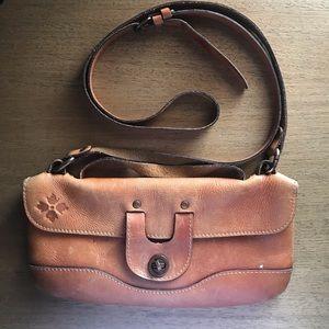 Patricia Nash leather crossbody wallet